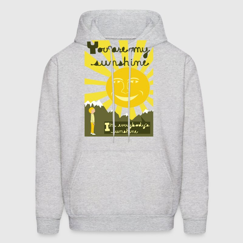 you are my sunshine - Men's Hoodie