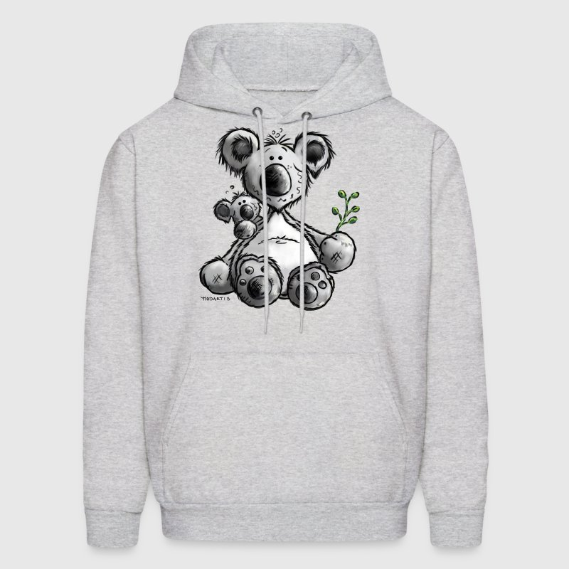 Koala- Bear - Australia - Cartoon - Men's Hoodie