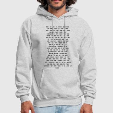 Weed ALL THE NAMES SHE GOES BY - Men's Hoodie