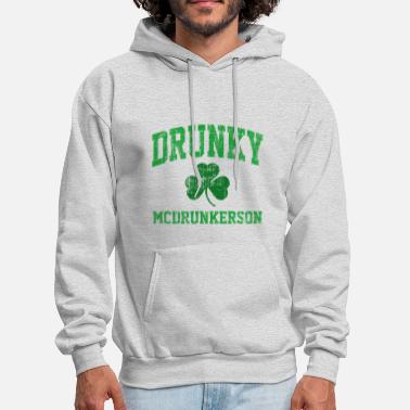 Irish Drunky McDrunkerson - Men's Hoodie