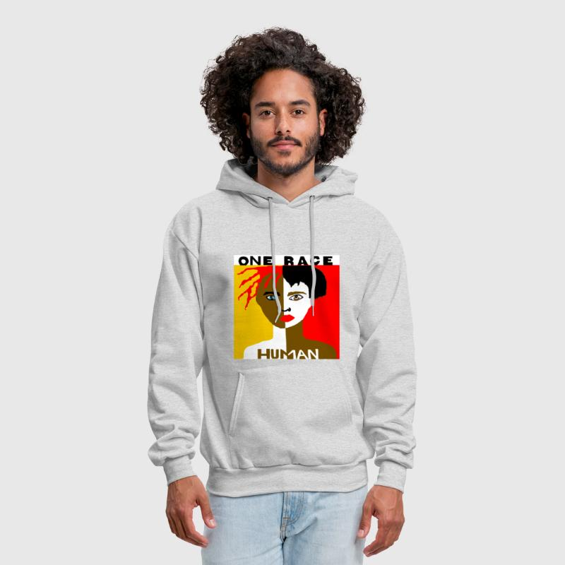 Shows respect for the human race. - Men's Hoodie