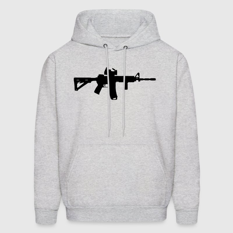 M4 - Assault Rifle - Men's Hoodie