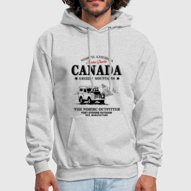 Canada - Offroad Jeep - Men's Hoodie