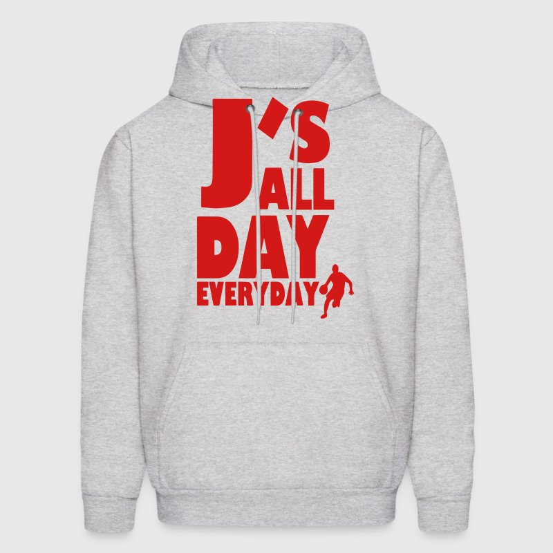 J'S ALL DAY EVERYDAY - Men's Hoodie