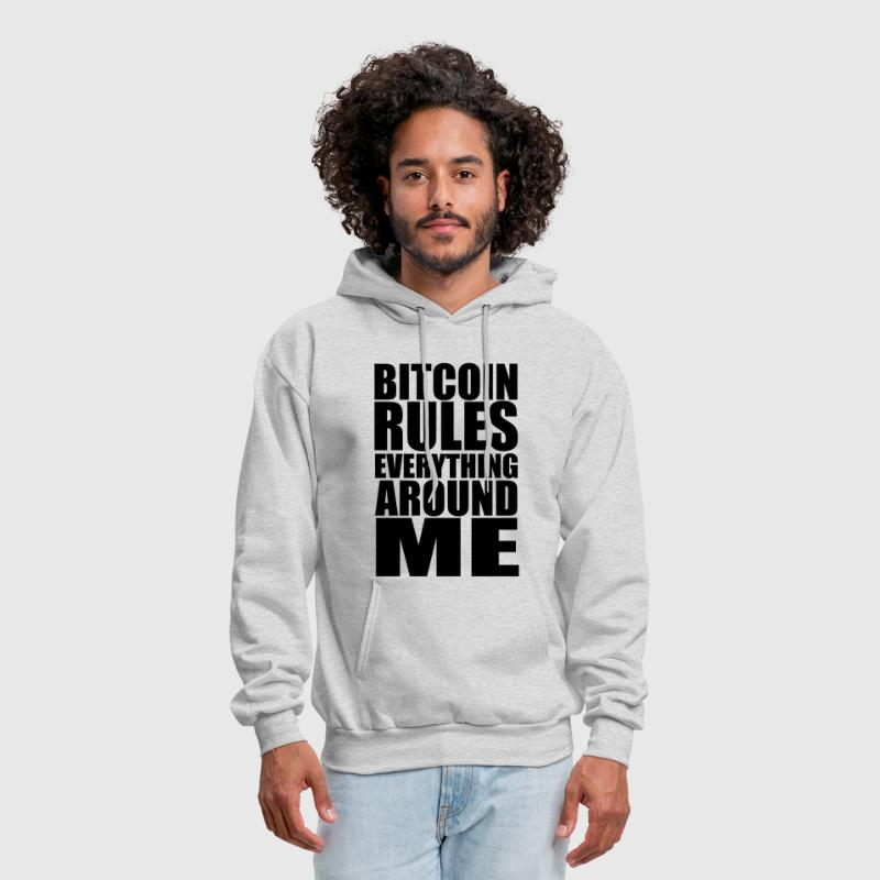Bitcoin Rules Everything Around Me - Men's Hoodie
