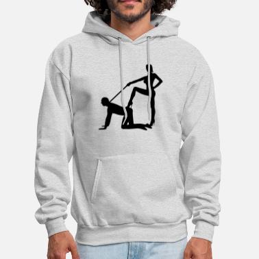 Domina scenes from a marriage dominatrix domina whip lash high heel bachelor party bachelorette wedding leash - Men's Hoodie