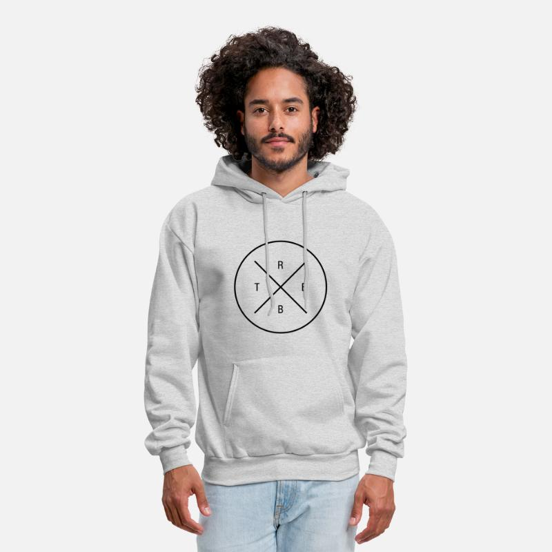Rabbit Hoodies & Sweatshirts - RBBT rabbit hipster bunny bunnies style - Men's Hoodie ash