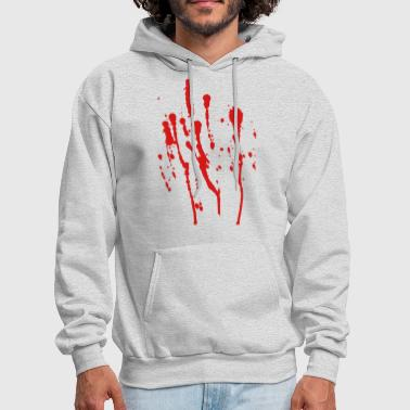 Blood Splatter - High Quality Vector - Men's Hoodie