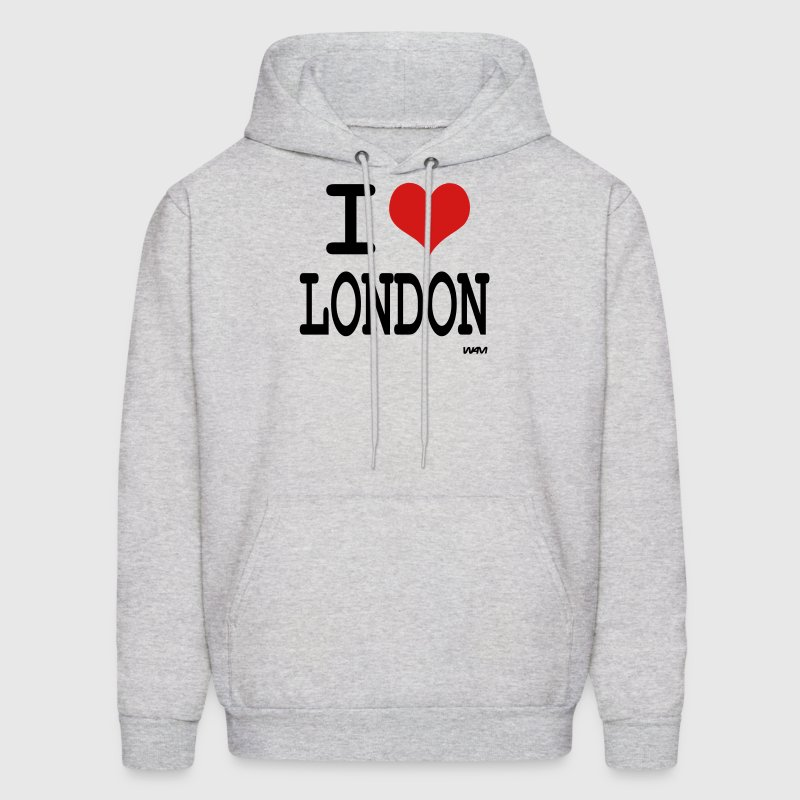 i love london by wam - Men's Hoodie