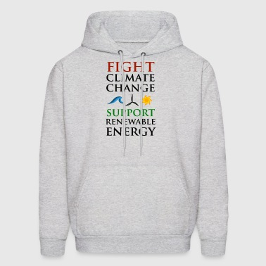 Fight Climate Change - Men's Hoodie