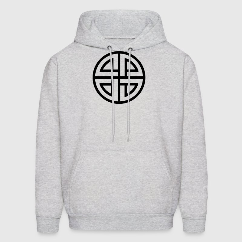 Celtic Shield Knot, Protection, Four Corner, Norse - Men's Hoodie