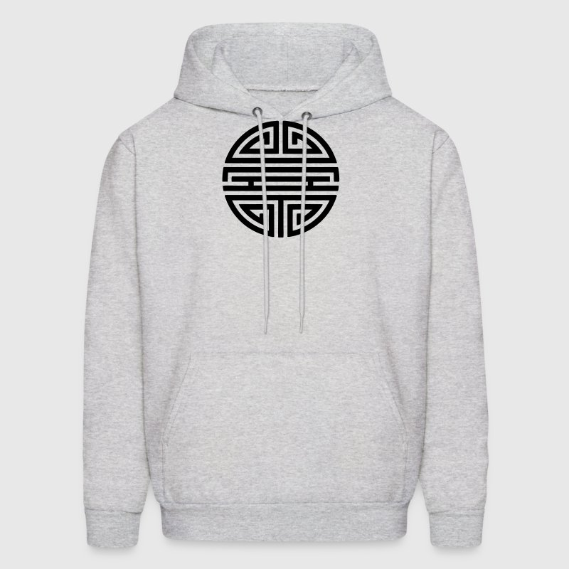 Shou, Chinese,good luck charm, symbol long life / - Men's Hoodie