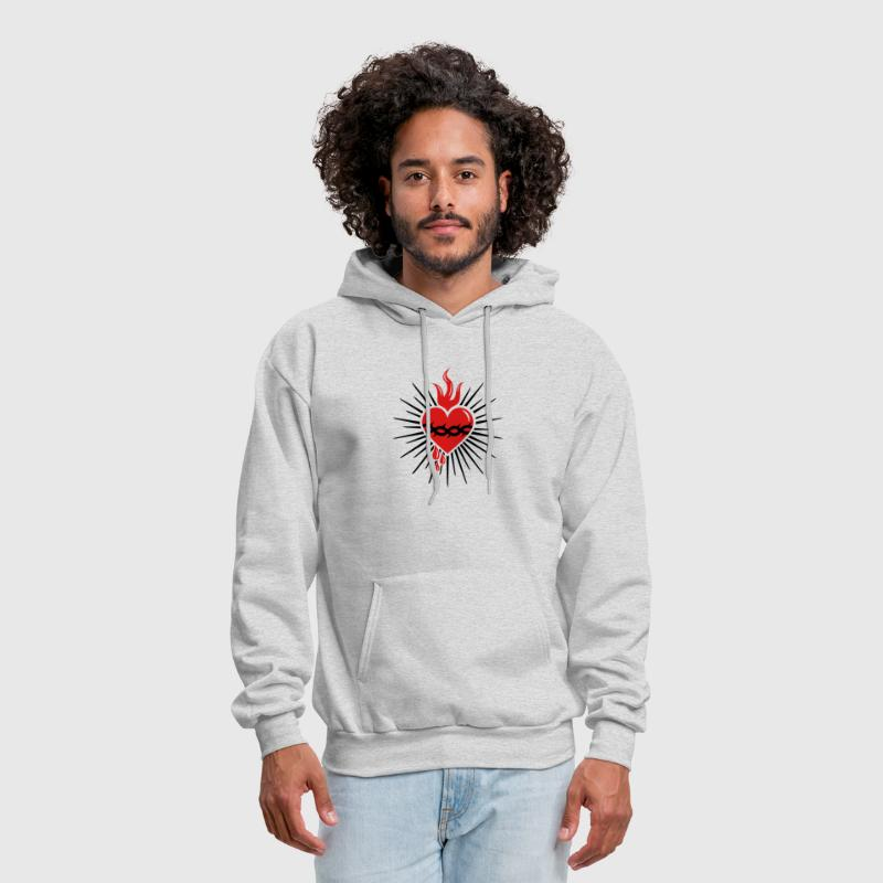 Sacred Heart of Jesus -  Christ Consciousness - Men's Hoodie