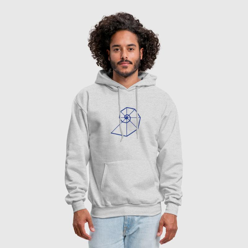 Fibonacci Spiral, Golden Ratio, Phi, Evolution - Men's Hoodie