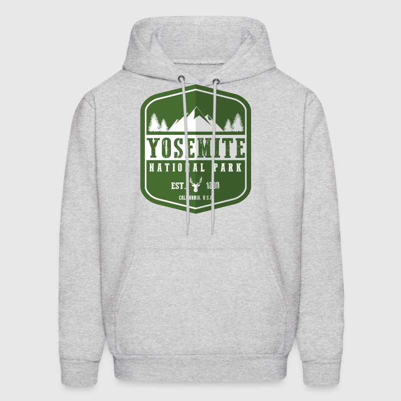 Yosemite National Park - Men's Hoodie