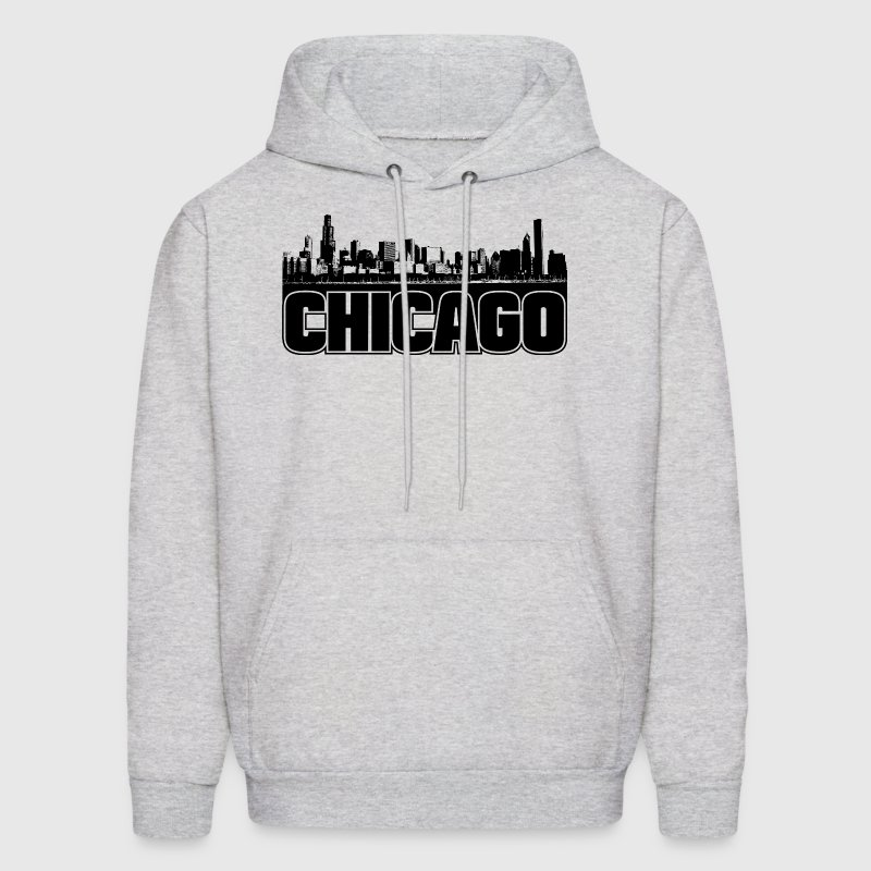 Chicago Skyline - Men's Hoodie