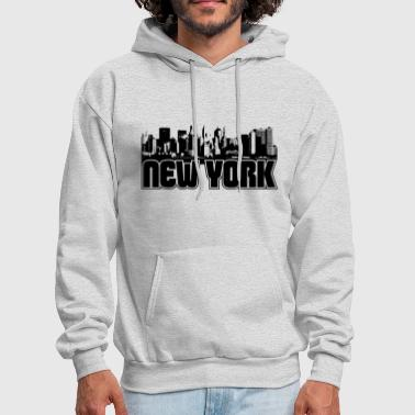 New York Skyline - Men's Hoodie