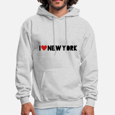I Love New York I Love New York - Men's Hoodie