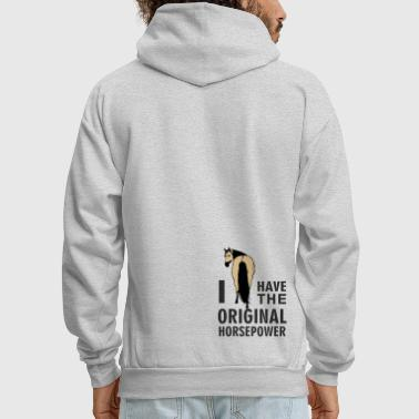 Sayings Original Horsepower - Men's Hoodie