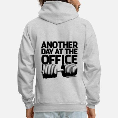 Gainz Another Day at the Office - Gym Motivation - Men's Hoodie