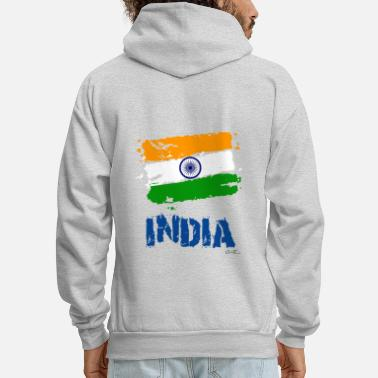 India India Flag - Men's Hoodie