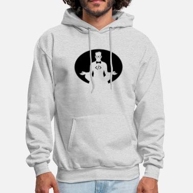 Coding Zen  - BE THE CODE - Men's Hoodie