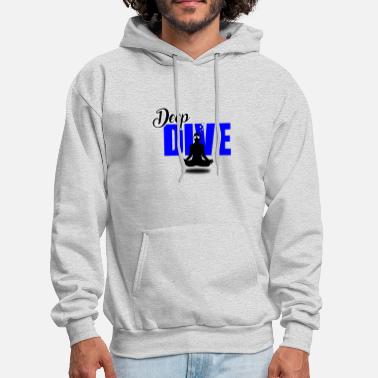 DEEP DIVE Diving/Tauchen/busseig/Mergulho/Buceo - Men's Hoodie
