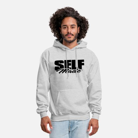 5ffb49d6b Boss Hoodies & Sweatshirts - SELF MADE - Men's Hoodie ash