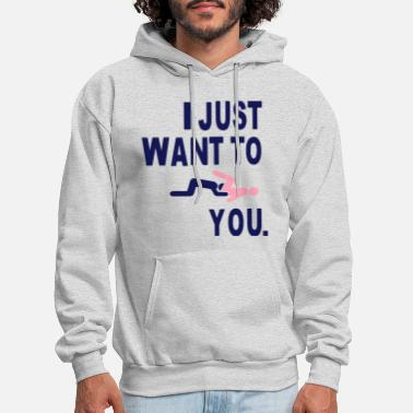 Love And Basketball I JUST WANT TO EAT YOU. - Men's Hoodie