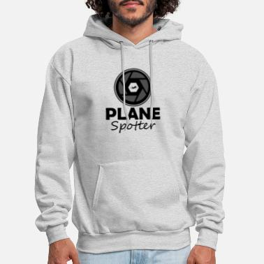 Plane Plane Spotter Aircraft Gift Idea for Planespotter - Men's Hoodie