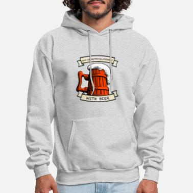 In a Relationship With Beer - Men's Hoodie