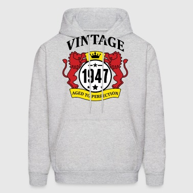 Vintage 1947 Aged to Perfection - Men's Hoodie