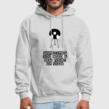 Satire ostrich head down - Men's Hoodie