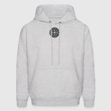 Black ornament - Men's Hoodie