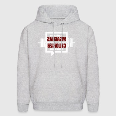 fitness burns calories gym gift - Men's Hoodie