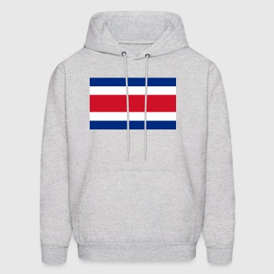 Costa Rica country flag love my land patriot - Men's Hoodie
