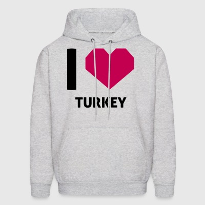 I Love Turkey - Men's Hoodie