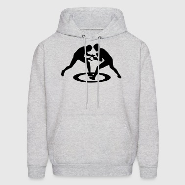 Wrestling, freestyle wrestling - Men's Hoodie