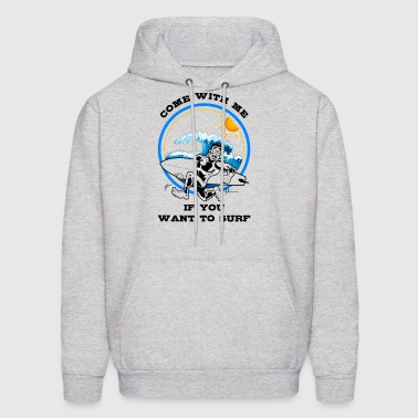 Surfer Summer Design - Men's Hoodie