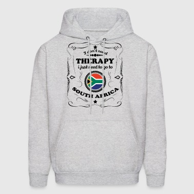 DON T NEED THERAPIE GO SOUTH AFRICA - Men's Hoodie