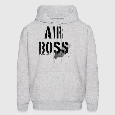 air boss requestin a flyby - Men's Hoodie