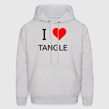 I love Tangle - Men's Hoodie