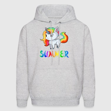 Summer Unicorn - Men's Hoodie