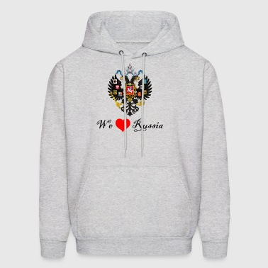 We love Russia - Men's Hoodie