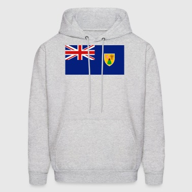 Turks and Caicos Islands Flag - Men's Hoodie