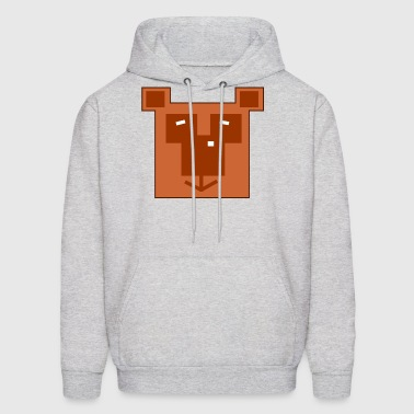 Cute Cartoon Bear - Men's Hoodie