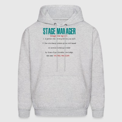 Stage Manager Definition - Men's Hoodie