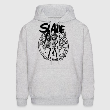 SLADE BAND GLAM HARD ROCK 70s RETRO CARTOON VINTAG - Men's Hoodie