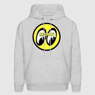 FUNNY MOON HOT ROD DRAGSTER FORD COUPE - Men's Hoodie