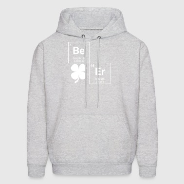 Beer Periodic Table St Patricks Day Shamrock Irish - Men's Hoodie